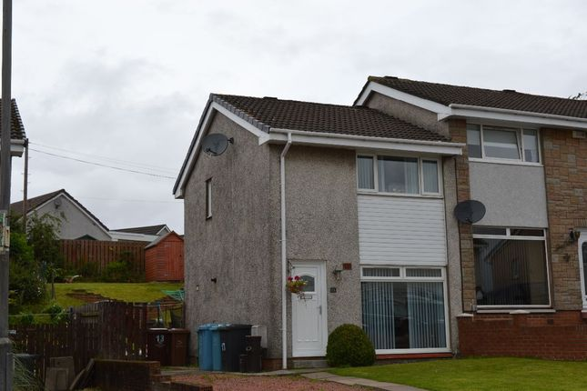 Thumbnail Semi-detached house for sale in Perth Avenue, Cairnhill, Airdrie