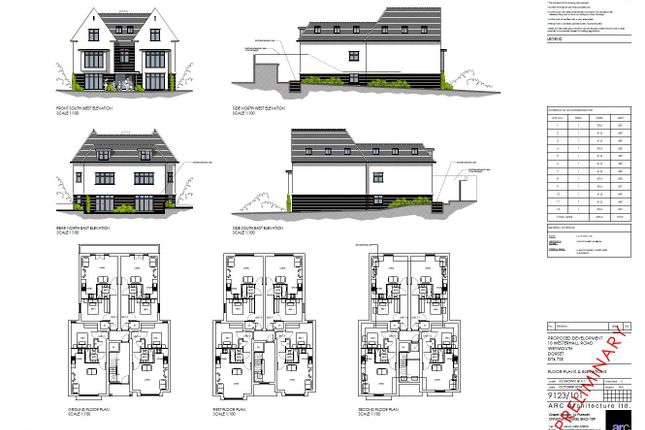 Thumbnail Land for sale in Lloyd Terrace, Chickerell Road, Chickerell, Weymouth