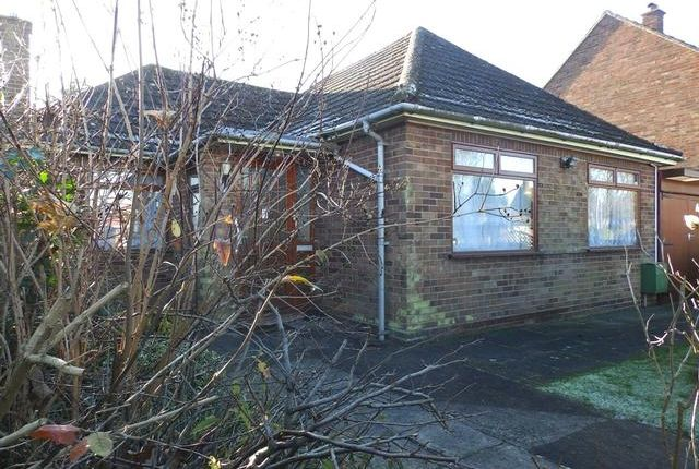 Thumbnail Detached bungalow for sale in Bromeswell Road, Ipswich