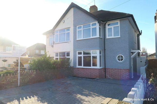 Thumbnail Semi-detached house for sale in East Road, Bedfont, Feltham