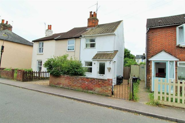 Thumbnail End terrace house for sale in Artillery Street, New Town, Colchester
