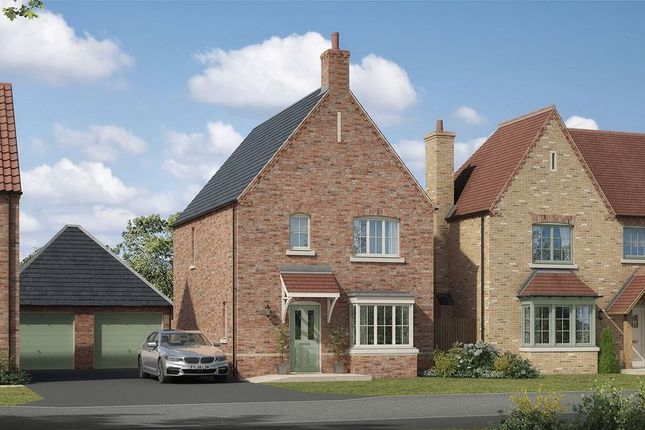 Thumbnail Detached house for sale in The Scampton, Lodge Lane, Nettleham