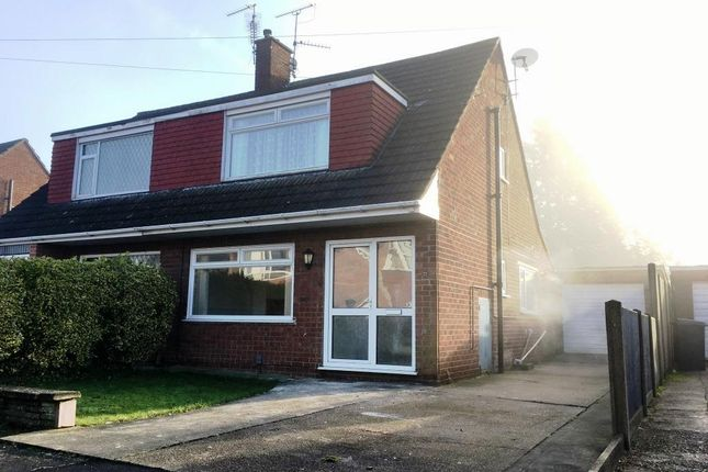 Thumbnail Semi-detached house to rent in Chestnut Road, North Hykeham, Lincoln