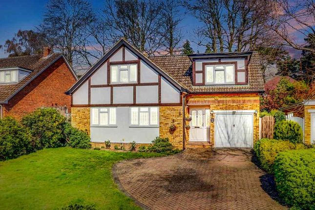 Thumbnail Detached house for sale in Fox Close, Pyrford, Woking