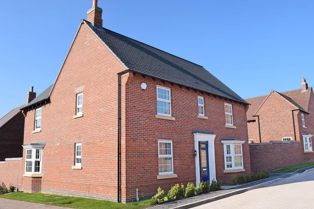 "Thumbnail Detached house for sale in ""Layton"" at The Long Shoot, Nuneaton"