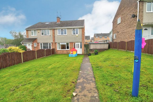 Thumbnail Semi-detached house for sale in Claremont, Newport