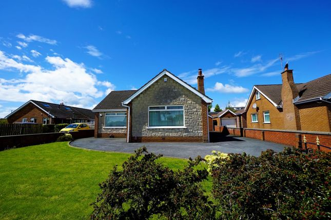Thumbnail 4 bed detached bungalow for sale in Robinson Road, Bangor