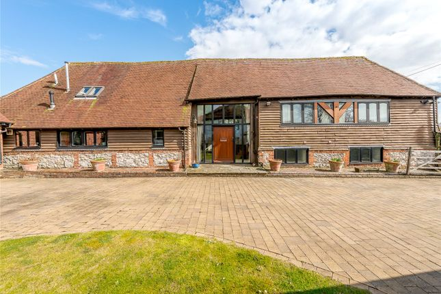 Thumbnail Barn conversion for sale in Crede Lane, Bosham, Chichester, West Sussex