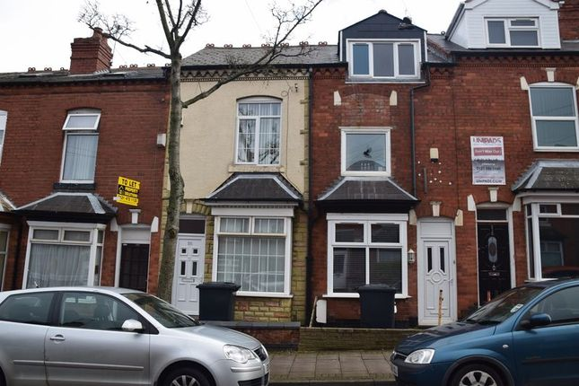 Thumbnail Terraced house to rent in Dawlish Road, Selly Oak, Birmingham
