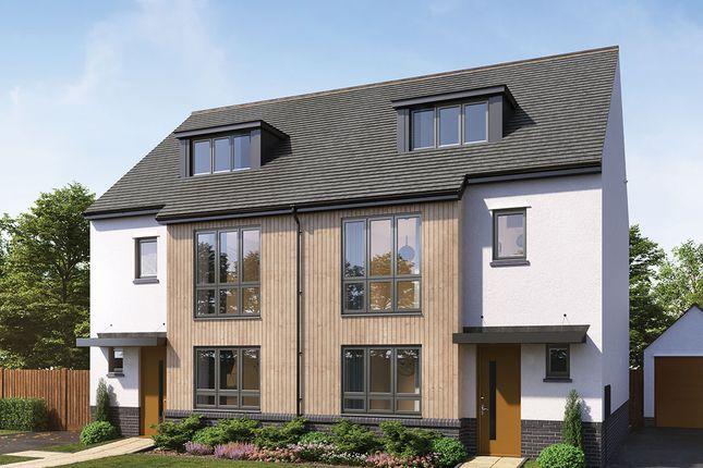 "Thumbnail Semi-detached house for sale in ""Roundhay"" at Manston Lane, Crossgates, Leeds"