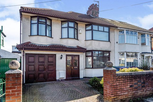 Thumbnail Semi-detached house for sale in Marford Road, Liverpool, Merseyside