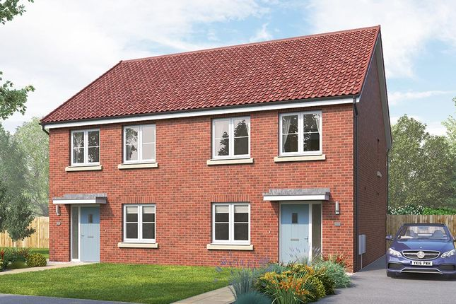 """Thumbnail Semi-detached house for sale in """"The Lorton"""" at Northgate Lodge, Skinner Lane, Pontefract"""