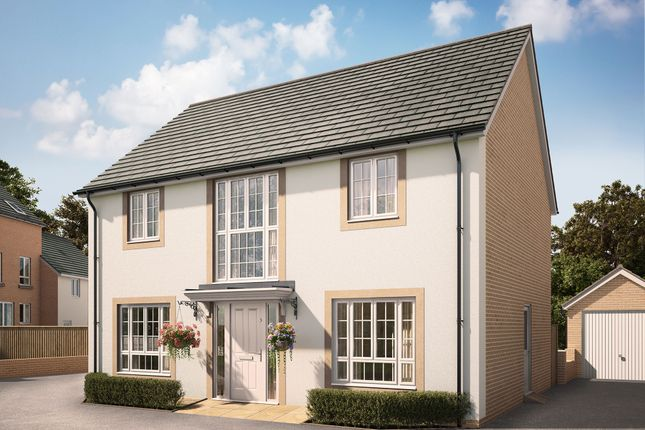 "Thumbnail Detached house for sale in ""The Northcott"" at Swallow Field, Roundswell, Barnstaple"