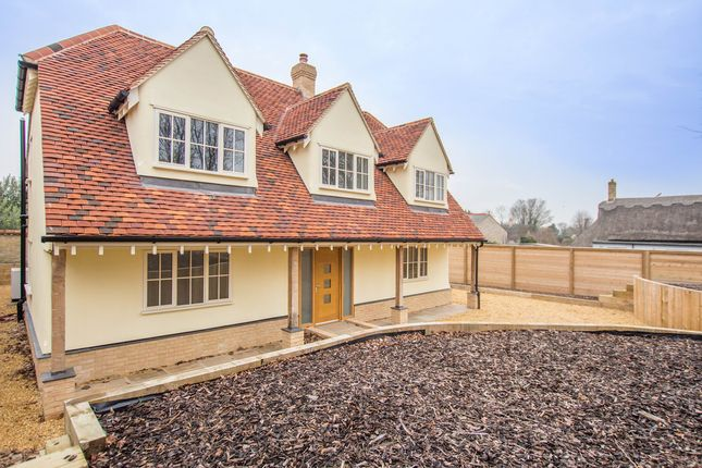 Thumbnail Detached house for sale in The Butts, Fowlmere, Royston