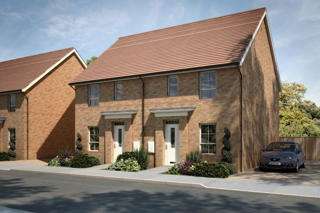"Thumbnail Semi-detached house for sale in ""Barwick"" at Tenth Avenue, Morpeth"