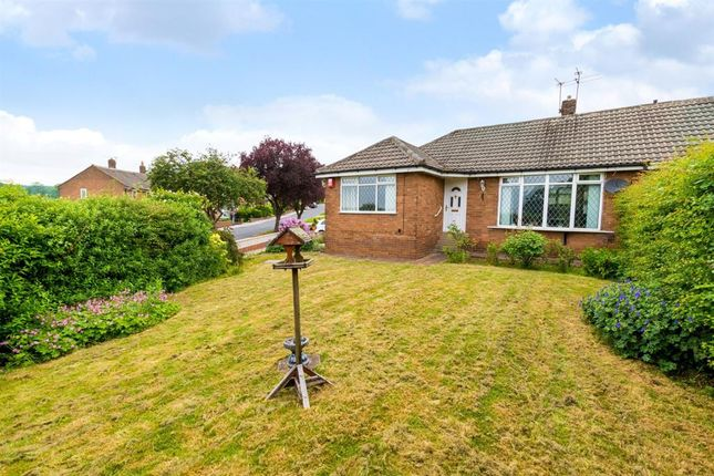 Thumbnail Semi-detached bungalow for sale in Moseley Wood Gardens, Cookridge