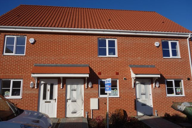 Thumbnail Town house for sale in Heritage Green, Kessingland, Lowestoft