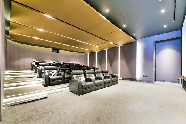Cinema Room of Perilla House, Goodman's Fields, Aldgate E1