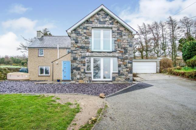 Thumbnail Detached house for sale in Mynydd Nefyn, Pwllheli, Gwynedd, .