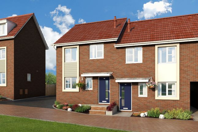 """Thumbnail Property for sale in """"The Cornflower At Meadow View, Shirebrook"""" at Brook Park East Road, Shirebrook, Mansfield"""