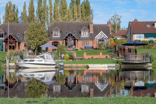 Thumbnail Detached house for sale in The Moorings, Sileby Road, Barrow Upon Soar, Leicestershire