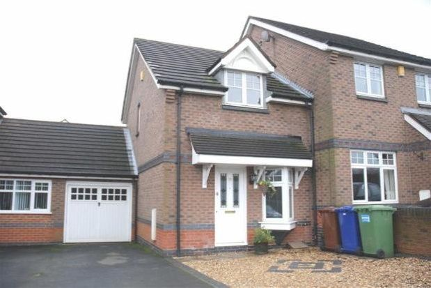 Thumbnail Semi-detached house to rent in Old Fallow Road, Cannock