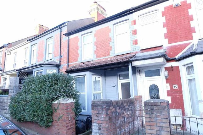 Thumbnail Terraced house for sale in College Road, Barry, Vale Of Glamorgan
