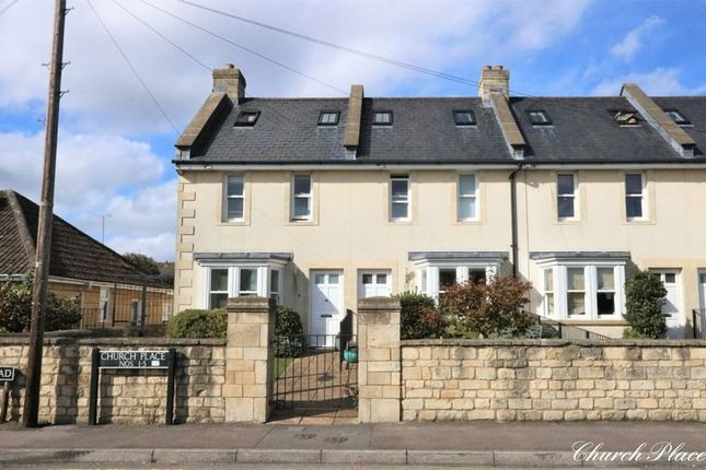 3 bed end terrace house for sale in Church Road, Combe Down, Bath