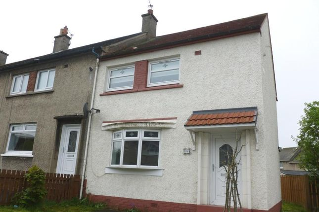 Thumbnail End terrace house to rent in Tamarack Crescent, Uddingston