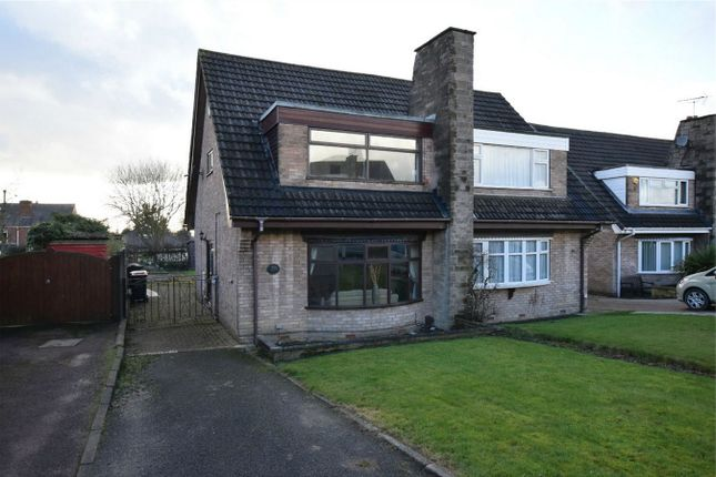 Thumbnail Semi-detached house for sale in Bridge End Avenue, Selston, Nottingham