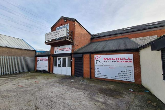 Thumbnail Leisure/hospitality to let in Unit 17 Sefton Industrial Estate, Sefton Lane, Maghull