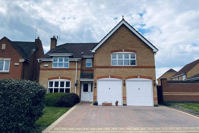 5 bed detached house for sale in Buckingham Road, Coalville, Leicestershire LE67