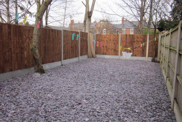 Rear Garden of Manchester St, Derby DE22