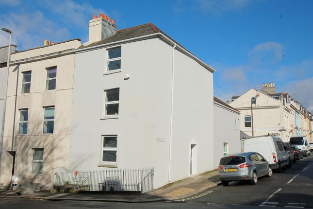 Thumbnail End terrace house for sale in Albert Road, Stoke, Plymouth