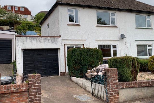 Thumbnail Semi-detached house to rent in Shorton Valley Road, Paignton