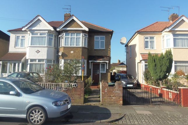 Thumbnail Semi-detached house for sale in Cowland Avenue, Ponders End, Enfield