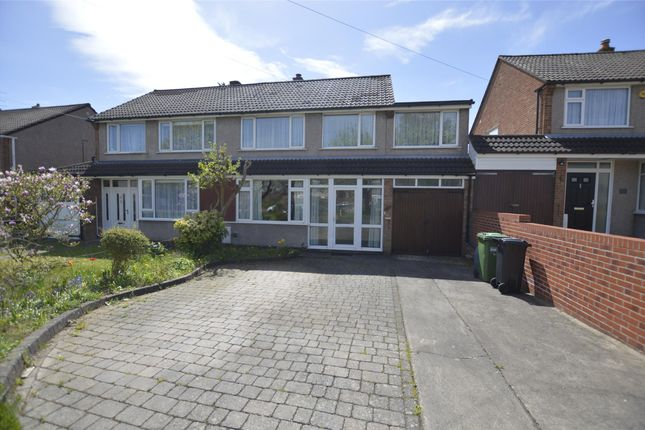 Thumbnail Semi-detached house for sale in Bradley Avenue, Bristol