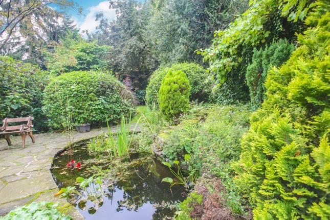 Rear Garden of Castle Hill, Prestbury, Macclesfield, Cheshire SK10
