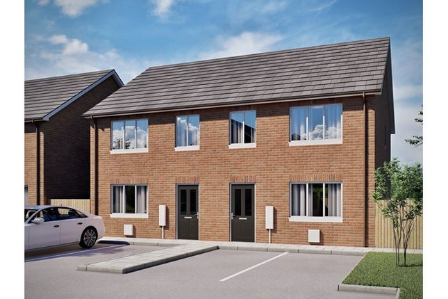 2 bedroom semi-detached house for sale in Birch Gardens, Elizabeth Whitnell Grove, Earl Shilton, Leicestershire