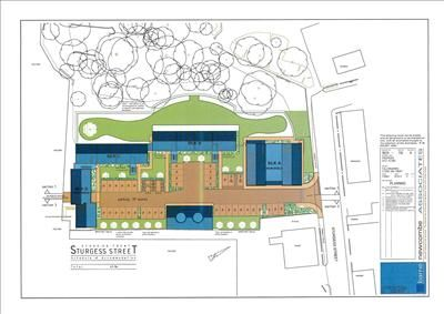 Commercial property for sale in Development Land Falcon Works, Sturgess Street, Stoke On Trent, Staffordshire