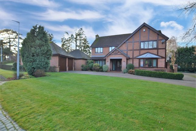 Thumbnail Detached house for sale in Rowan Close, Sandbach