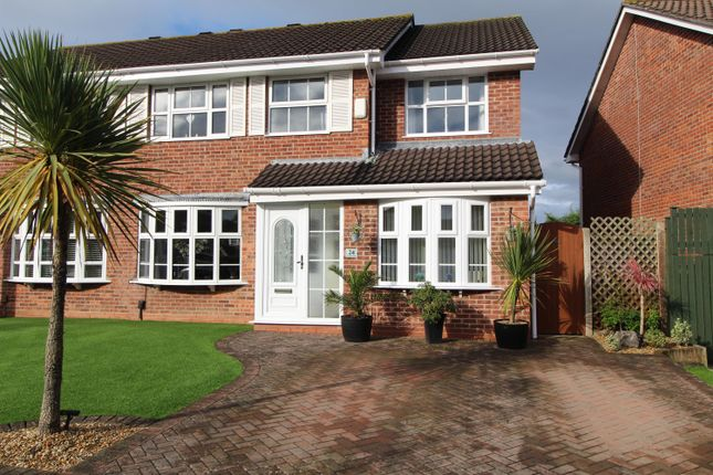 Thumbnail Semi-detached house for sale in Stoneberry Road, Whitchurch, Bristol
