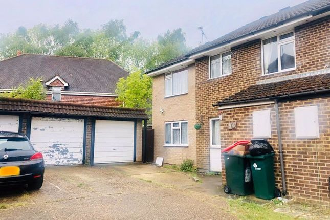 Thumbnail Semi-detached house to rent in Stace Way, Worth, Crawley