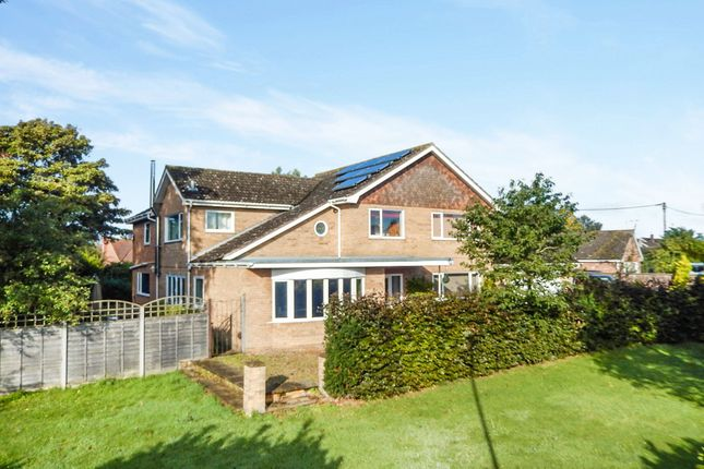 Thumbnail Detached house for sale in West Carr Road, Attleborough