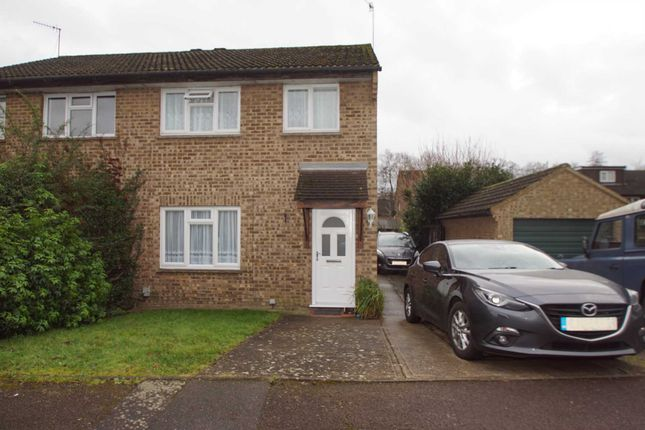 3 bed semi-detached house to rent in Willowmead, Hertford SG14