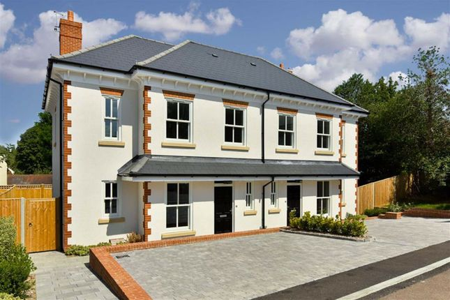 Thumbnail Semi-detached house for sale in Clemson Mews, Epsom, Surrey