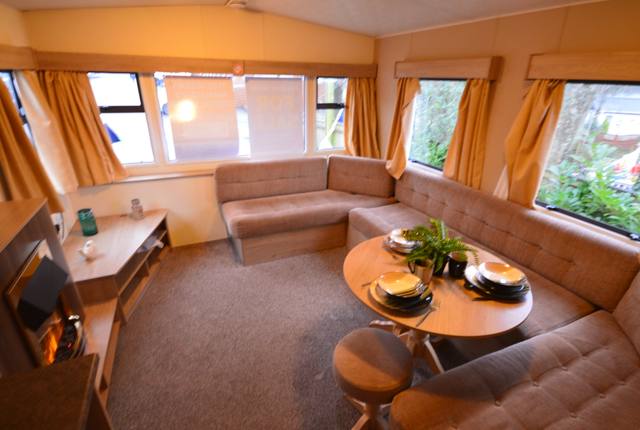This Model Has 2 Good Size Bedrooms And An Open Plan Lounge And Kitchen Area.