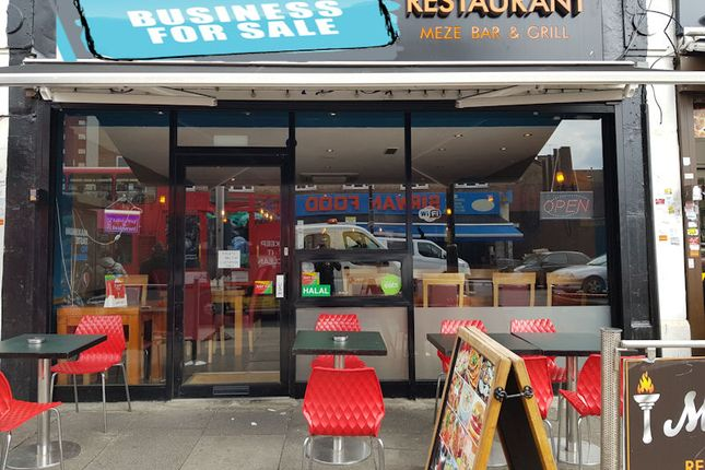 Thumbnail Restaurant/cafe for sale in 4 Green Lanes, Palmers Green