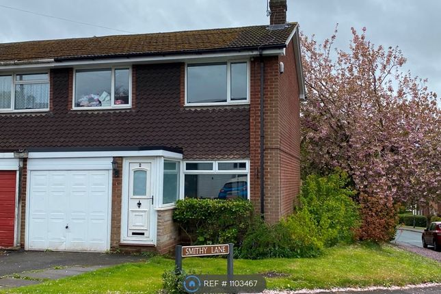 3 bed end terrace house to rent in Smithy Lane, Lichfield WS13