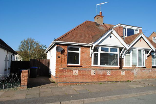 Thumbnail Semi-detached bungalow for sale in Yelvertoft Road, Kingsthorpe, Northampton